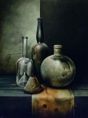Glas op lap © Robert Daalmeijer