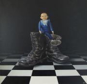 Op grote voet © Robert Daalmeijer