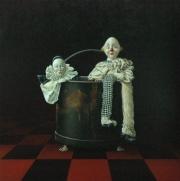 De clown uithangen © Robert Daalmeijer