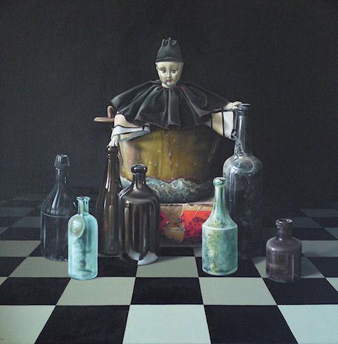 Flessentrekker © Robert Daalmeijerf